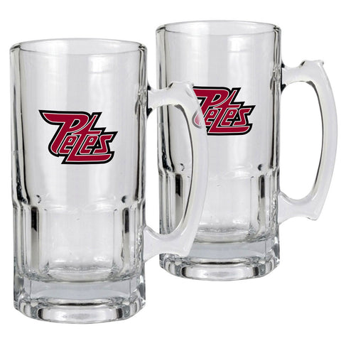Peterborough Petes - 2pk 34oz. Macho Mug Set