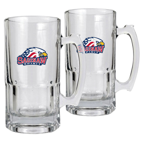 Saginaw Spirit - 2pk 34oz. Macho Mug Set