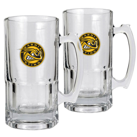 Sarnia Sting - 2pk 34oz. Macho Mug Set