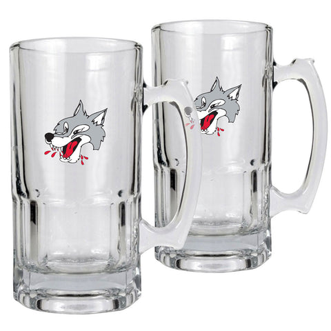 Sudbury Wolves - 2pk 34oz. Macho Mug Set