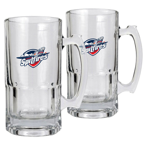 Windsor Spitfires - 2pk 34oz. Macho Mug Set