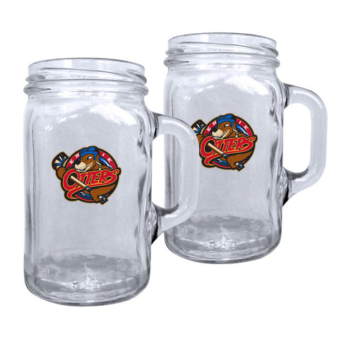 Erie Otters - 2pk. 16oz Mason Mug Set