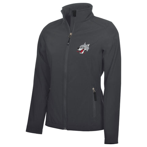 Sudbury Wolves Adult Ladies Graphite Jacket
