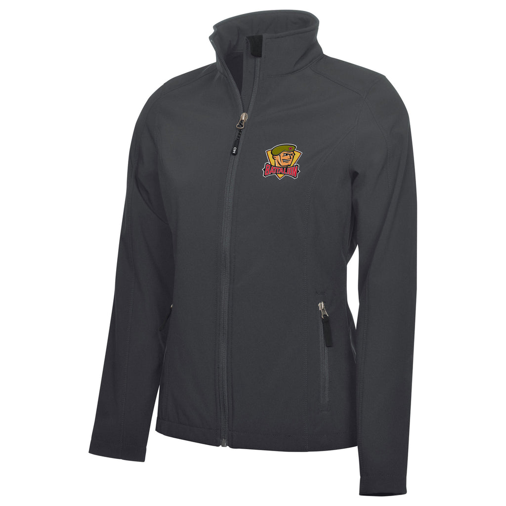 North Bay Battalion Adult Ladies Graphite Jacket