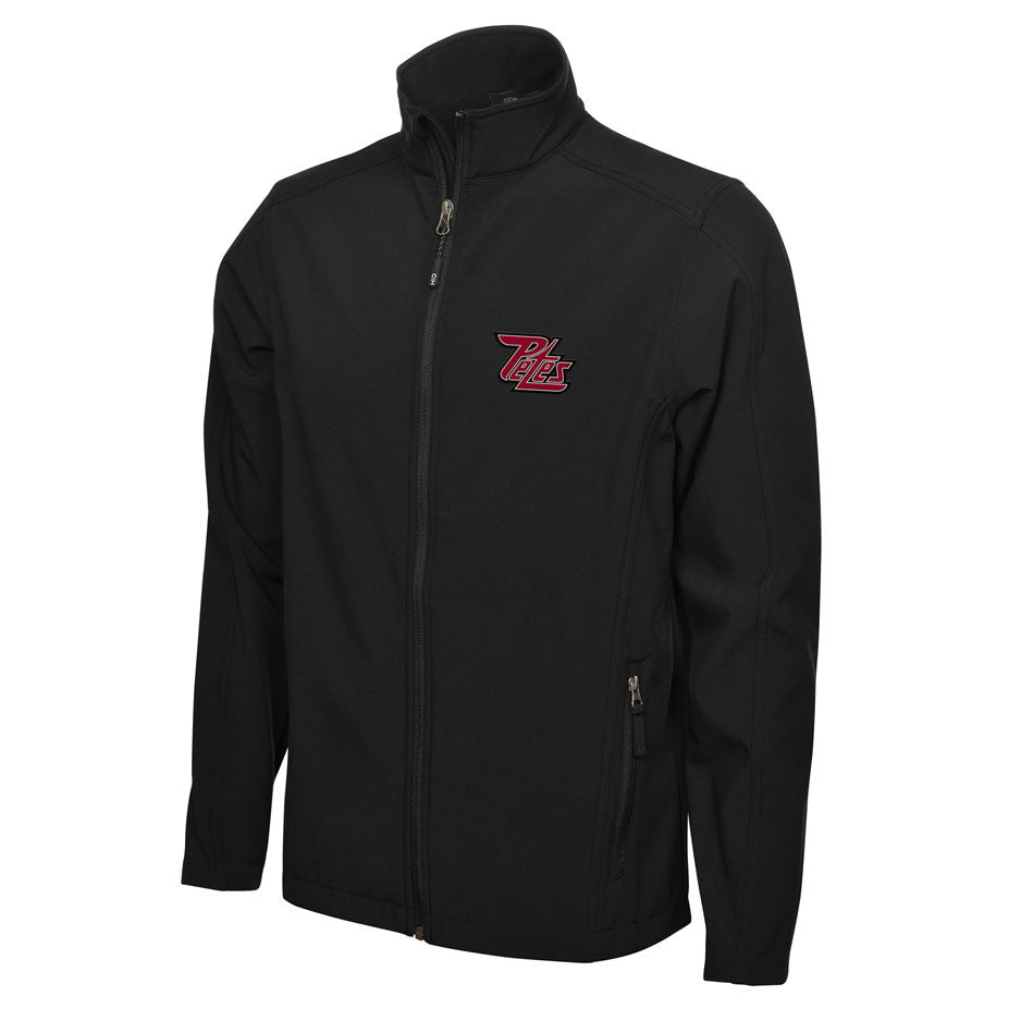 Peterborough Petes Adult Mens Black Jacket