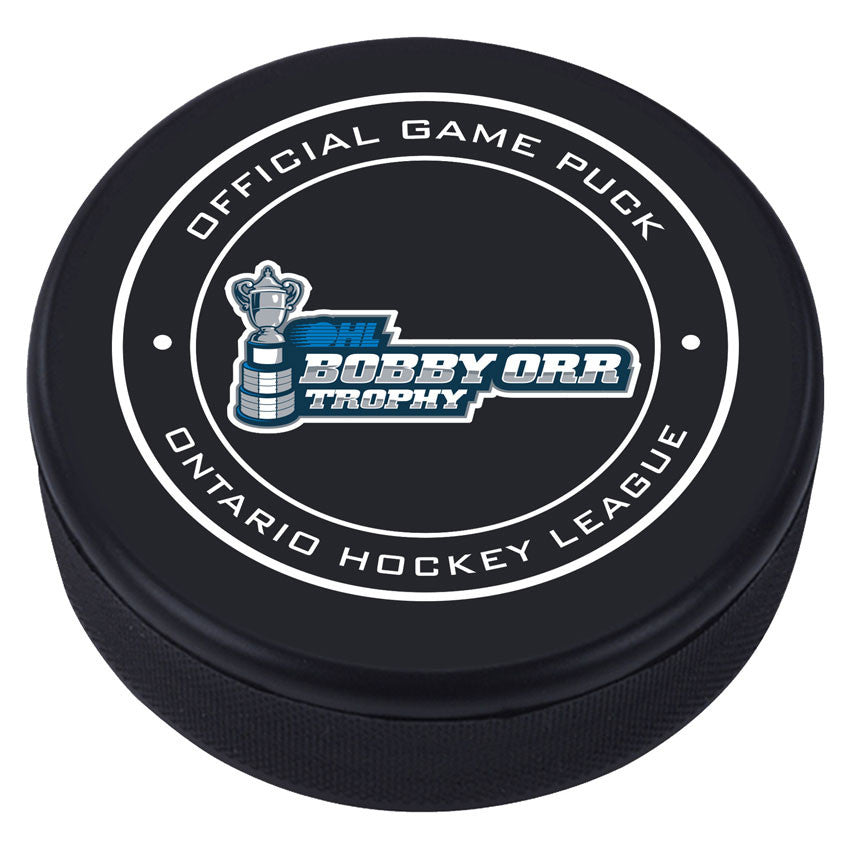OHL Bobby Orr Trophy Puck - Version 1