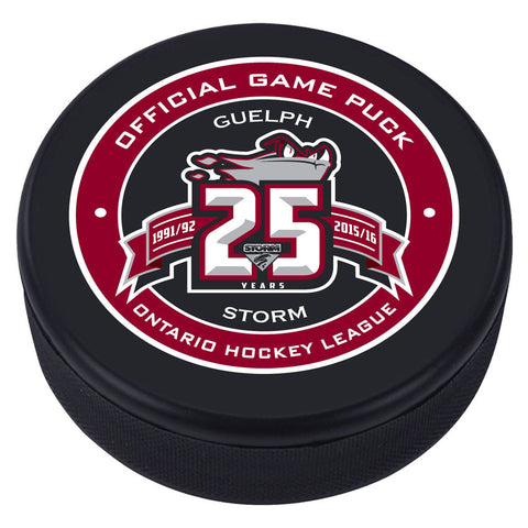 Guelph Storm Puck - Version 1