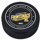 Kingston Frontenacs Puck - Version 1