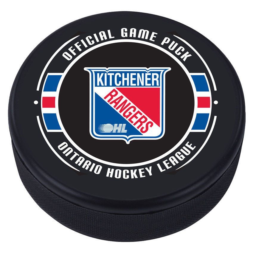 Kitchener Rangers Puck - Version 2