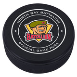North Bay Battalion Puck - Version 1