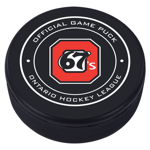 Ottawa 67's Puck - Version 1