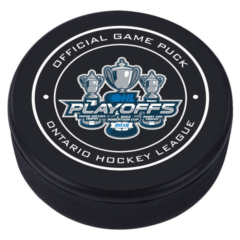 OHL Playoff Puck - Version 1