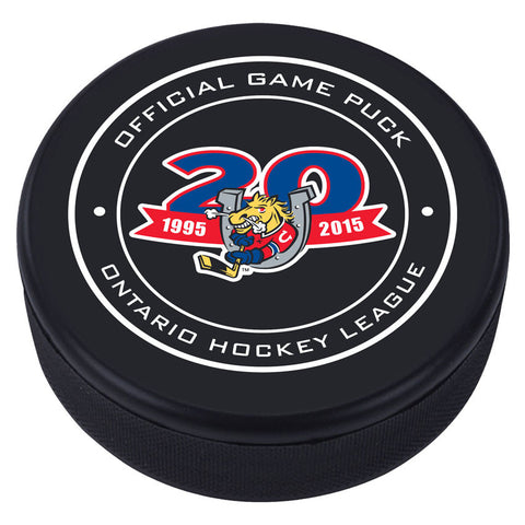 Barrie Colts Puck - Version 2