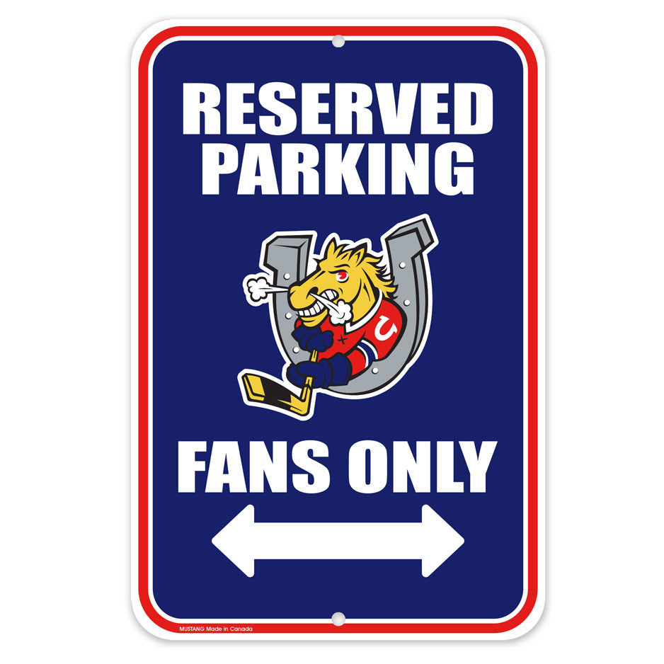 Barrie Colts Parking Sign