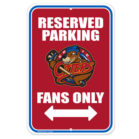 Erie Otters - 10x15 Parking Sign