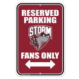 Guelph Storm Parking Sign