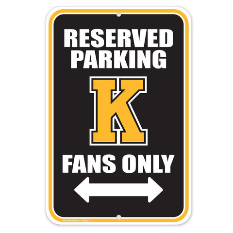 Kingston Frontenacs - 10x15 Parking Sign