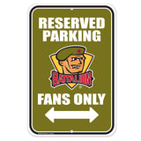 North Bay Battalion Parking Sign