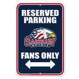 Saginaw Spirit Parking Sign