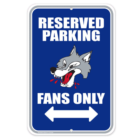 Sudbury Wolves - 10x15 Parking Sign