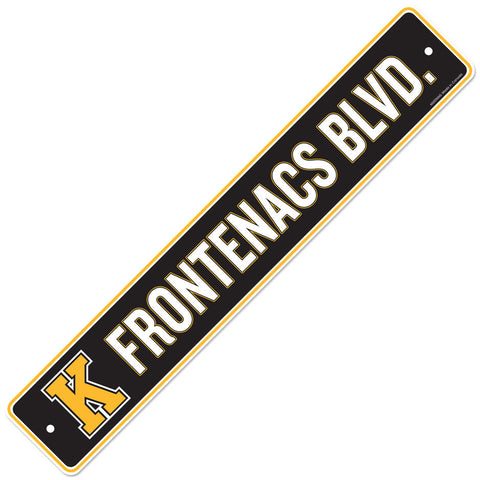 Kingston Frontenacs 4x23 Street Sign