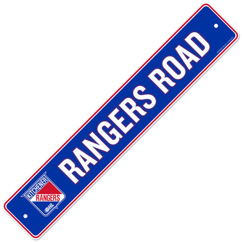 Kitchener Rangers 4x23 Street Sign