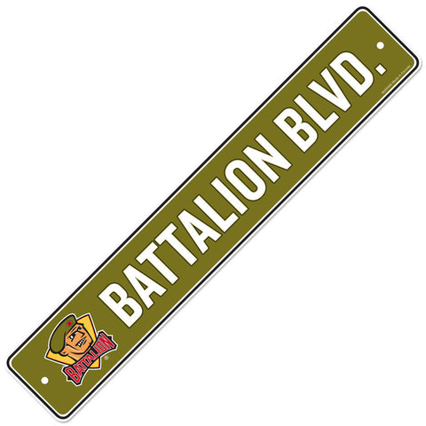 North Bay Battalion 4x23 Street Sign