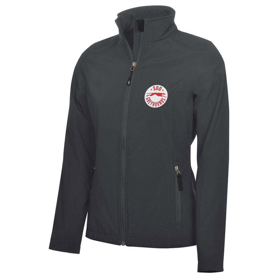 SSM Greyhounds Adult Ladies Graphite Jacket