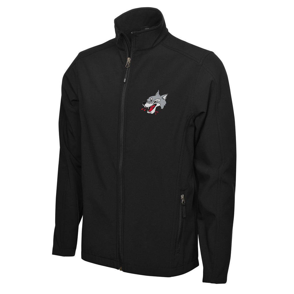 Sudbury Wolves Adult Mens Black Jacket