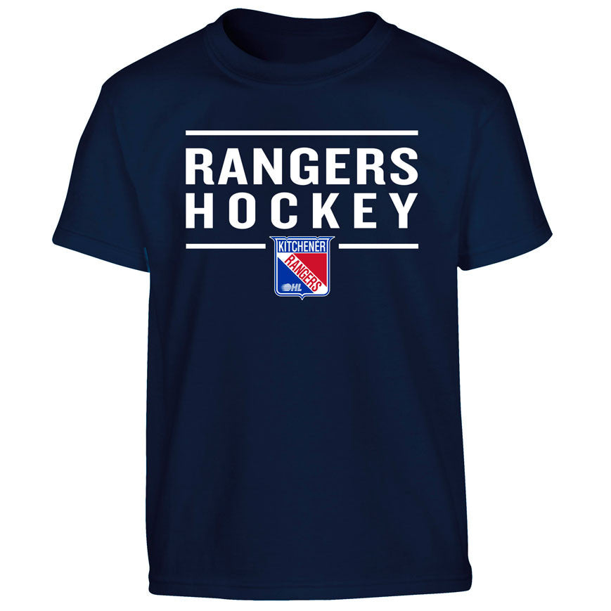 Youth Kitchener Rangers Navy T Shirt Design 24 Ohlshop