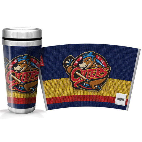 Erie Otters 16oz Woolie Travel Mug Full Wrap