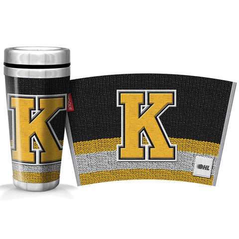 Kingston Frontenacs 16oz Woolie Travel Mug Full Wrap