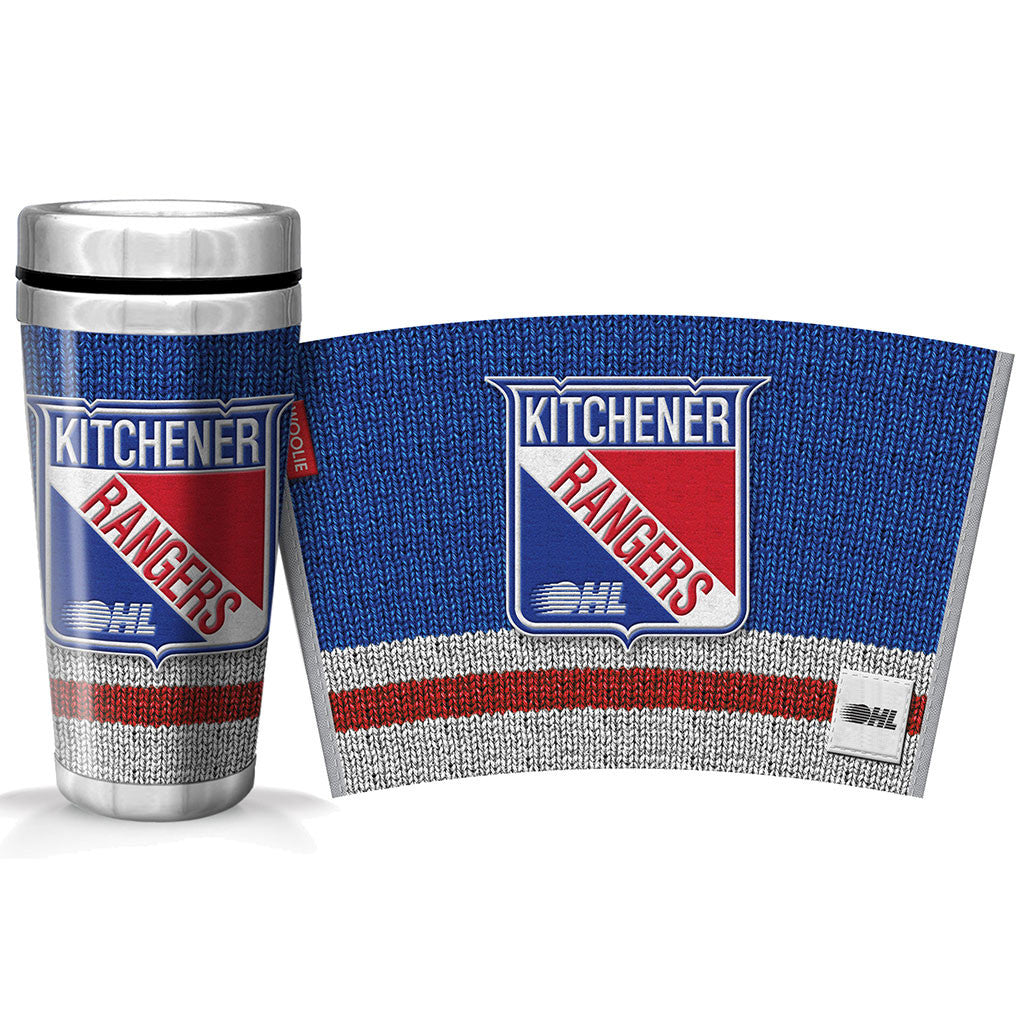 Kitchener Rangers 16oz Woolie Travel Mug Full Wrap
