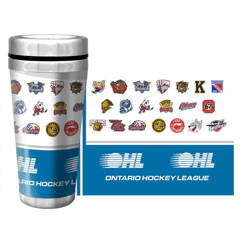 Saginaw Spirit 8oz Black Stainless Steel Flask