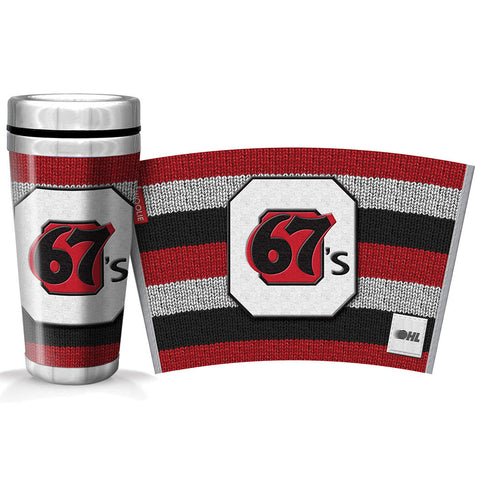 Ottawa 67's 16oz Woolie Travel Mug Full Wrap