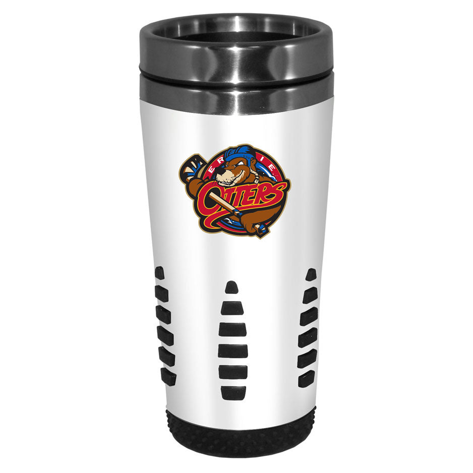 Erie Otters - 16oz. White Travel Mug Huntsville