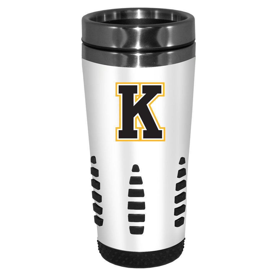 Kingston Frontenacs - 16oz. White Travel Mug Huntsville