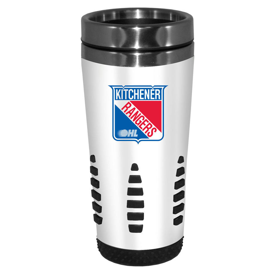 Kitchener Rangers - 16oz. White Travel Mug Huntsville