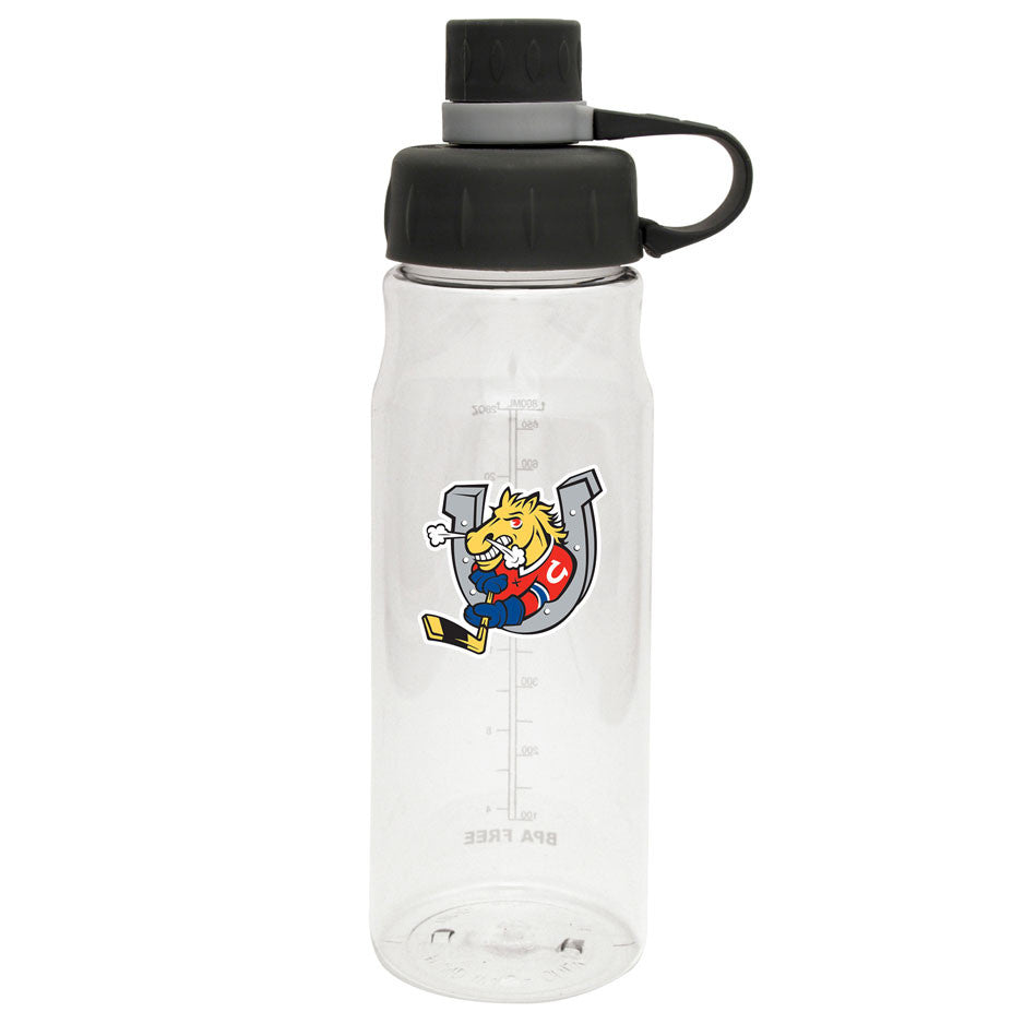 Barrie Colts - 28oz Clear Water Bottle Oasis