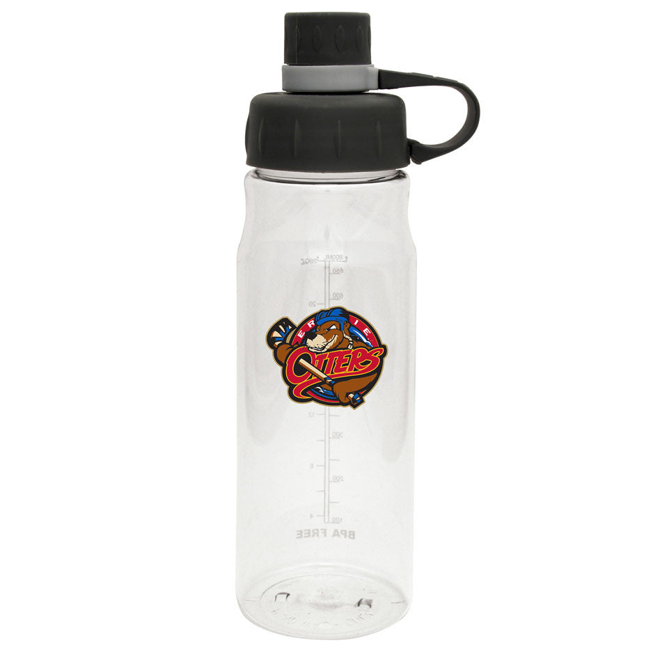 Erie Otters - 28oz Clear Water Bottle Oasis