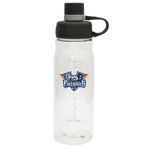 Flint Firebirds - 28oz Clear Water Bottle Oasis