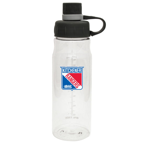 Kitchener Rangers - 28oz Clear Water Bottle Oasis