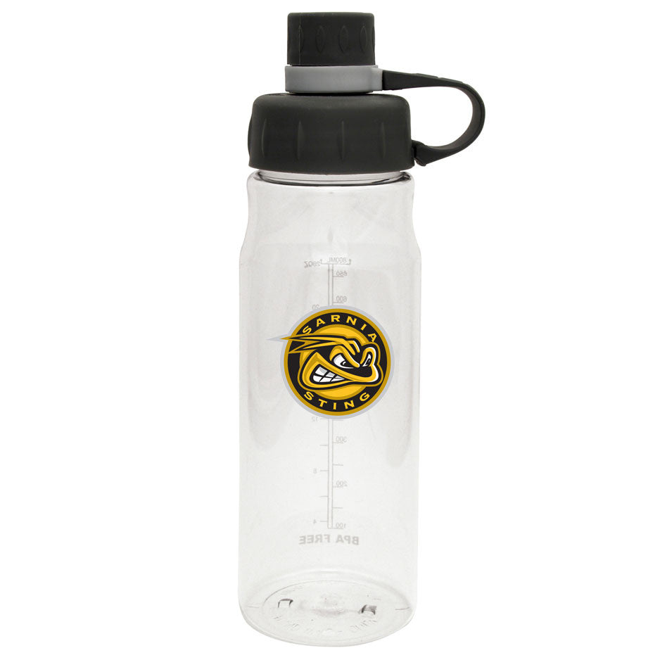 Sarnia Sting - 28oz Clear Water Bottle Oasis