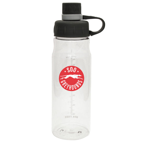 SSM Greyhounds - 28oz Clear Water Bottle Oasis
