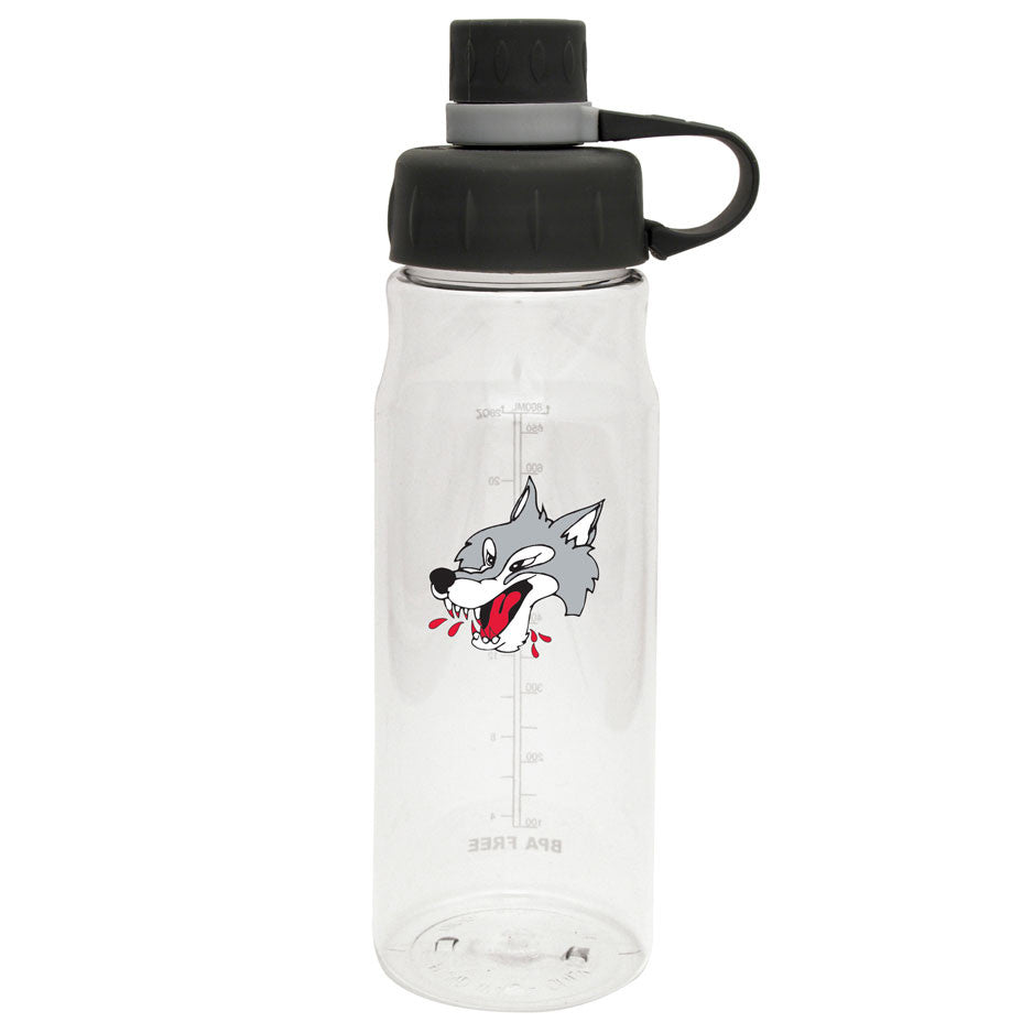 Sudbury Wolves - 28oz Clear Water Bottle Oasis
