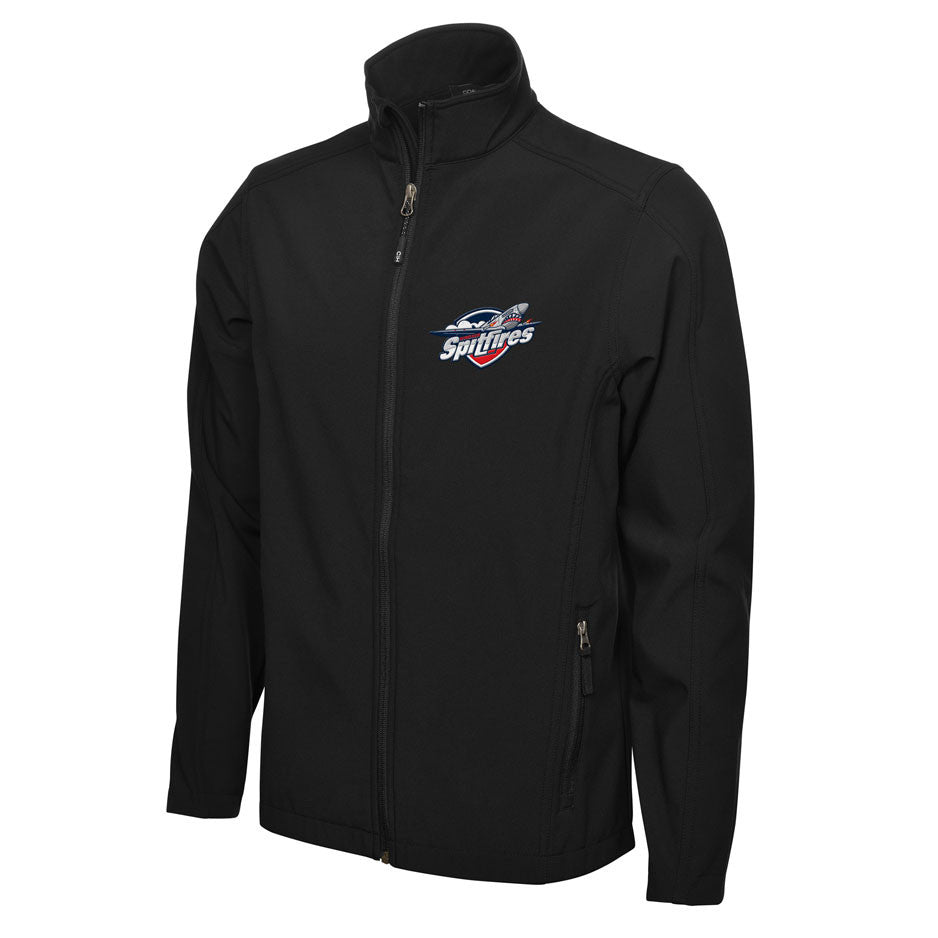 Windsor Spitfires Adult Mens Black Jacket