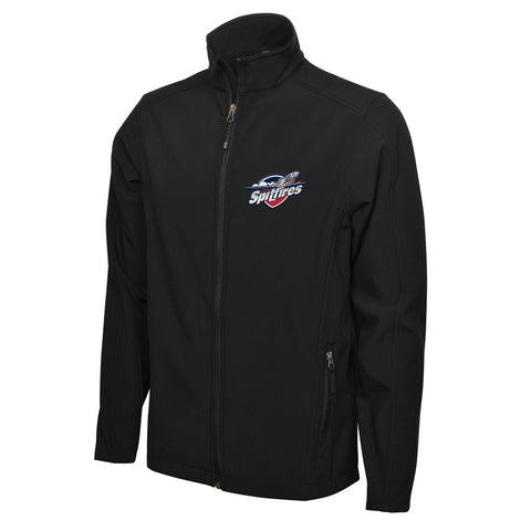 Windsor Spitfires Adult Men's Black Jacket