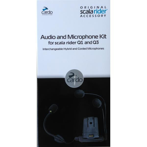 Kit de micrófono y audio - para scala rider Q1/Q3