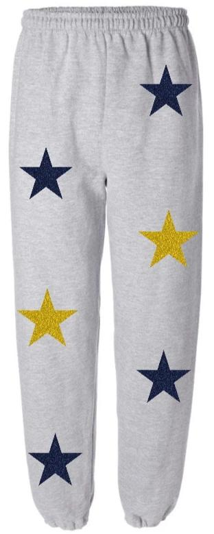 Glitter Star Power Sweatpants