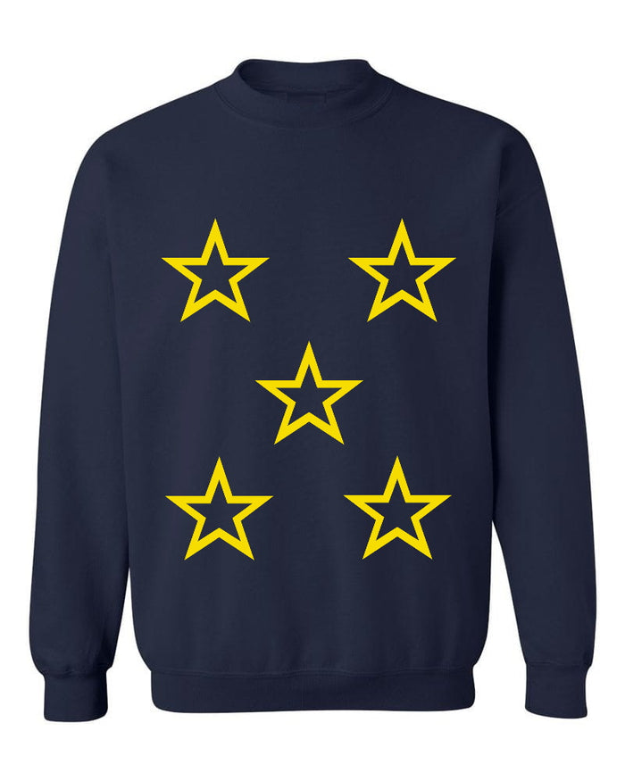 You're A Star Navy Crew Neck Sweatshirt